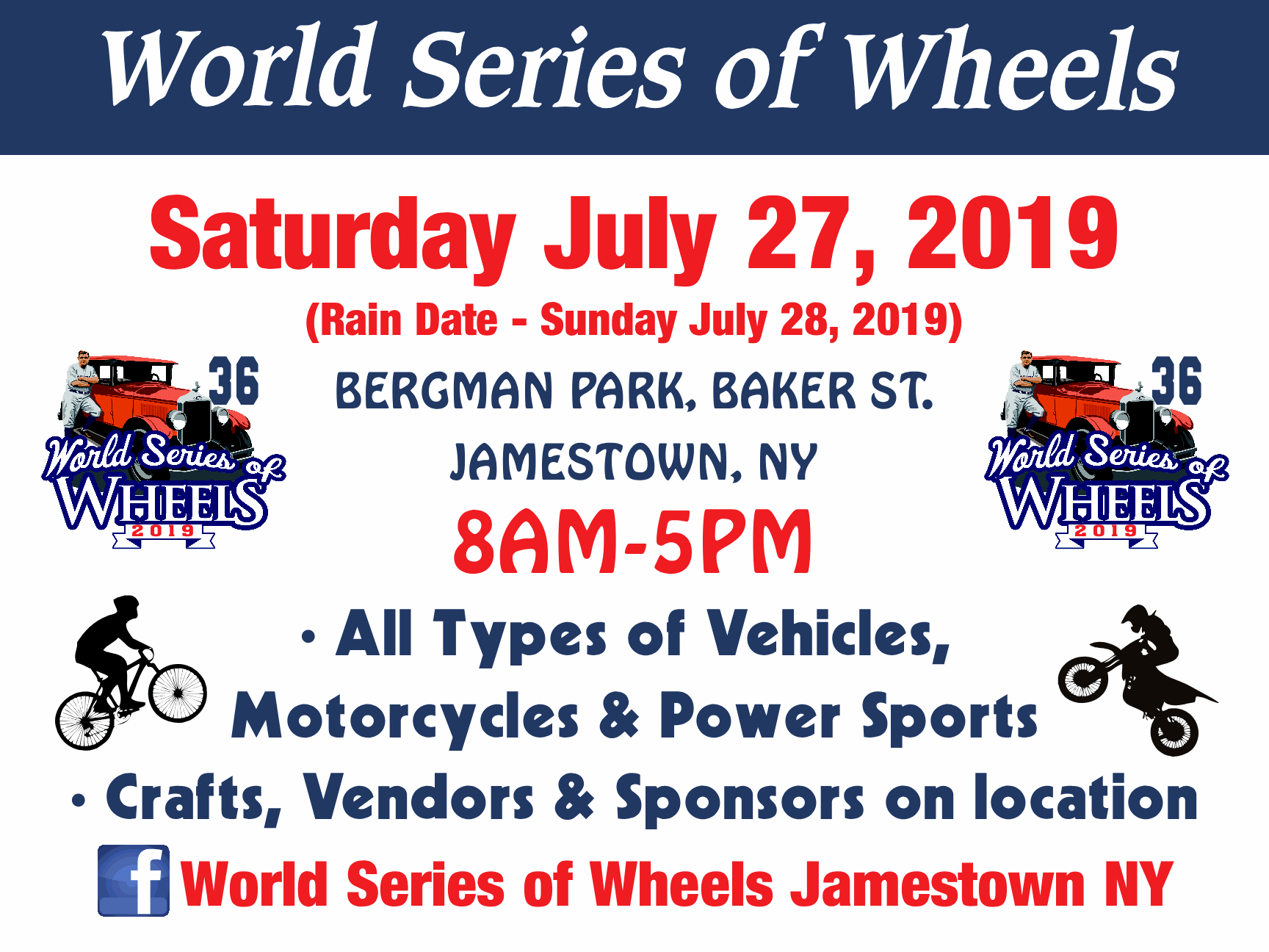 World Series of Wheels - Jamestown Babe Ruth World Series